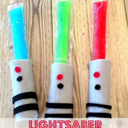 lightsaber popsicles