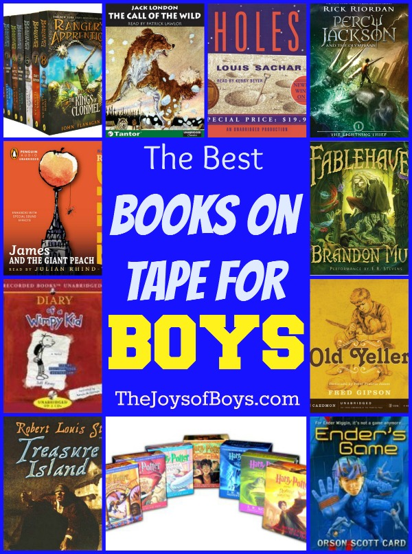 Books on tape for boys