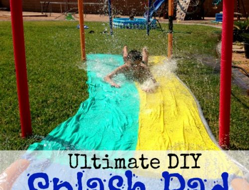 Ultimate DIY Splash Pad