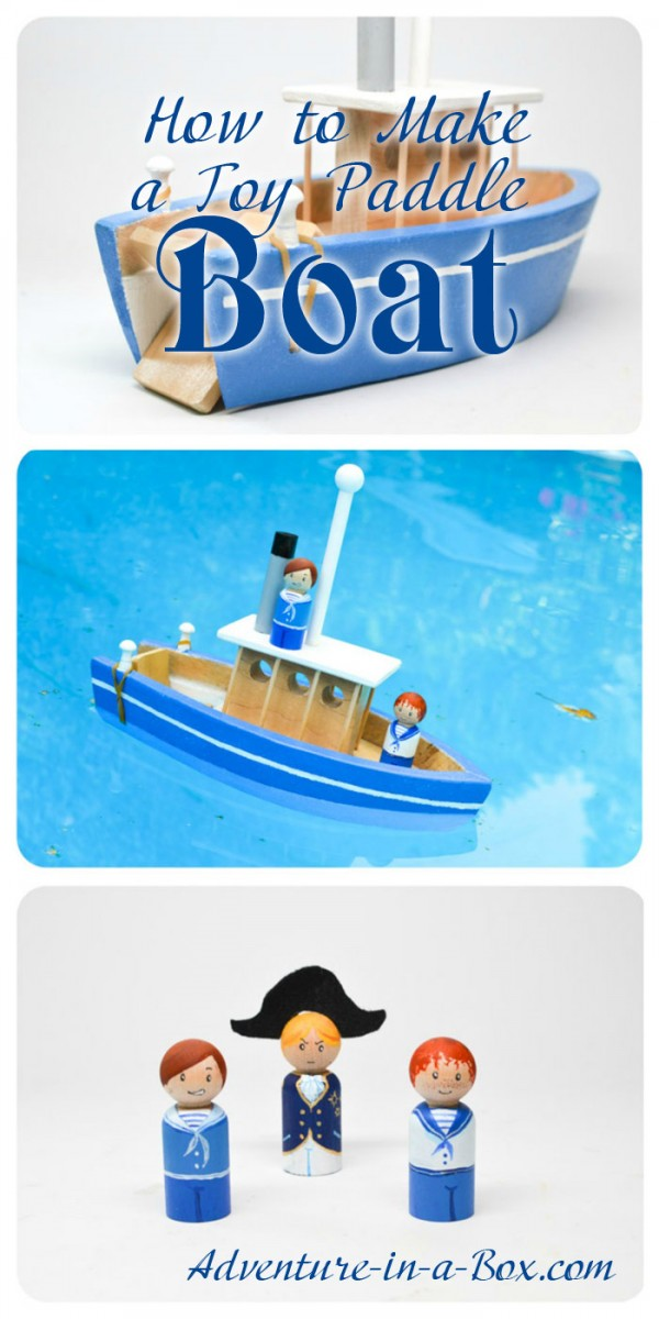 Toy paddle boat