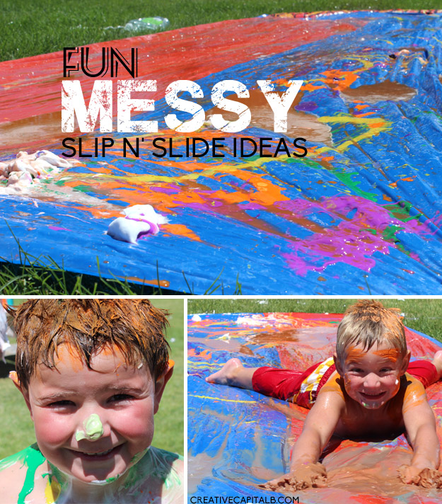 Slip and Slide Ideas