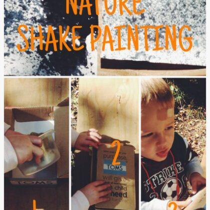 Nature Shake Painting
