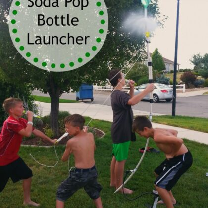 soda pop bottle launcher