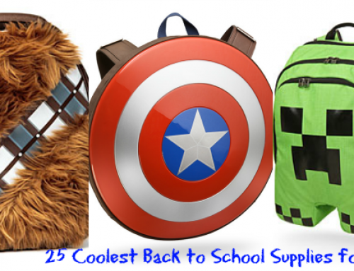 25 Cool Back to School Supplies for Boys