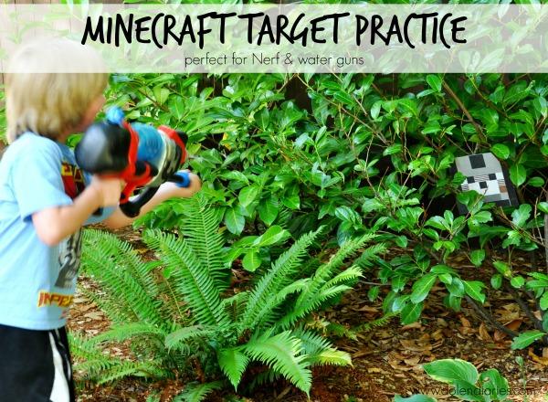 minecraft target practice