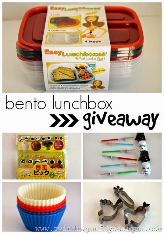 Bento Lunchbox Giveaway