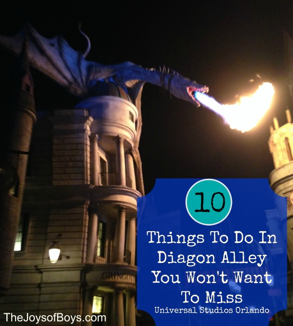 Things to Do in Diagon Alley