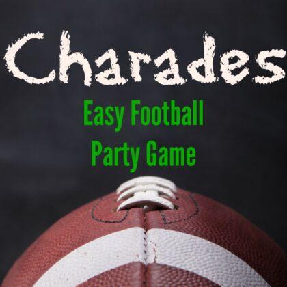 Football Games Charades