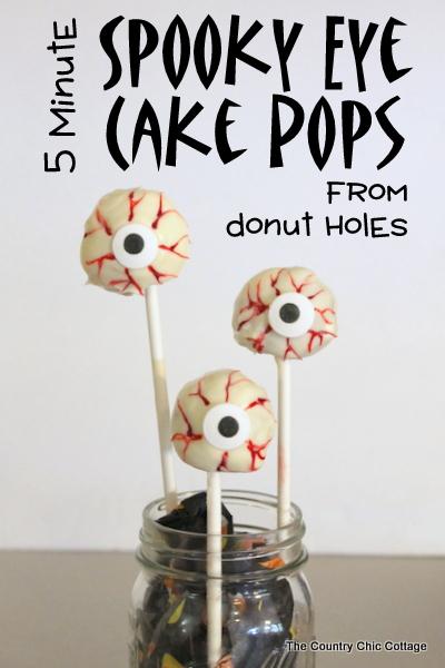 spooky eye cake pops recipe