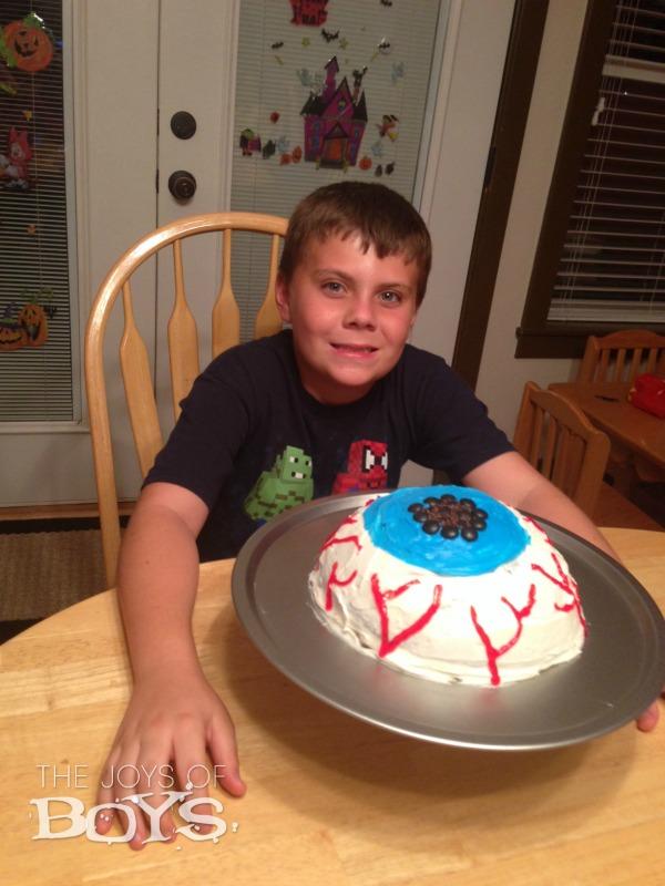Birthday Eyeball Cake
