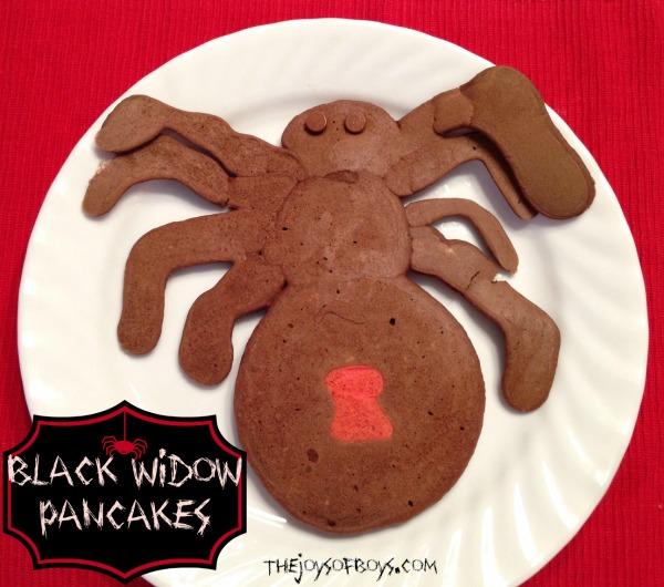 Spider Pancakes