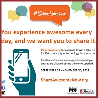 #ShareAwesome initiative