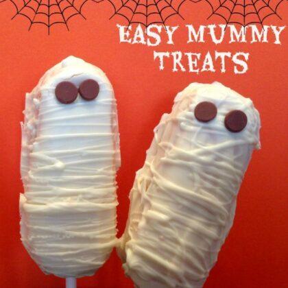 Easy Mummy Treats