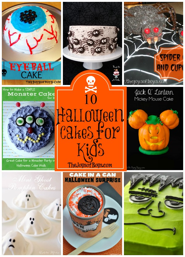 Halloween Cakes for Kids