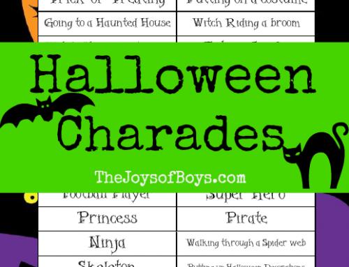 Halloween Charades: Printable Halloween Game