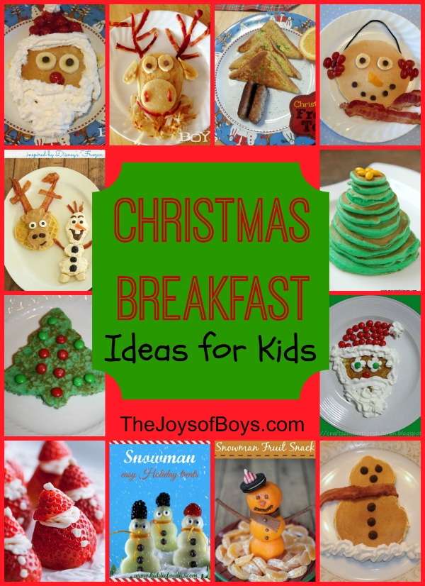christmas breakfast kids