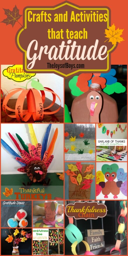 Gratitude crafts and activities
