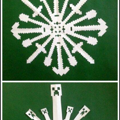Minecraft Snowflakes