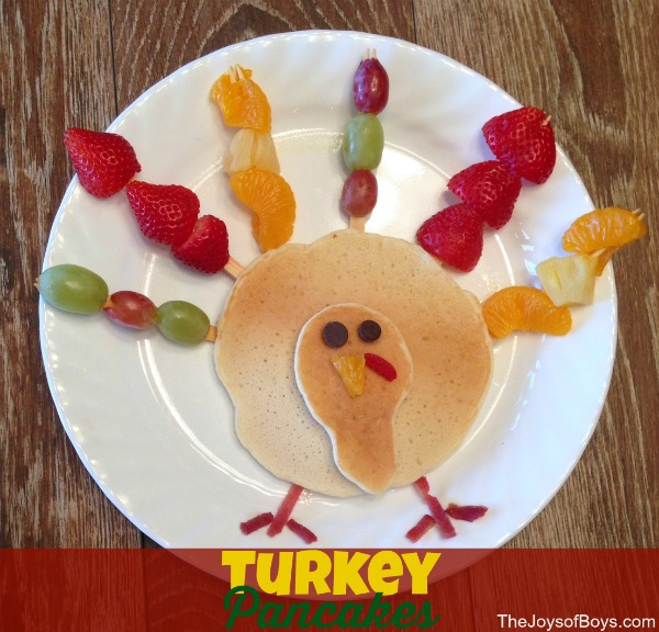 Turkey Pancakes – Easy Thanksgiving Breakfast