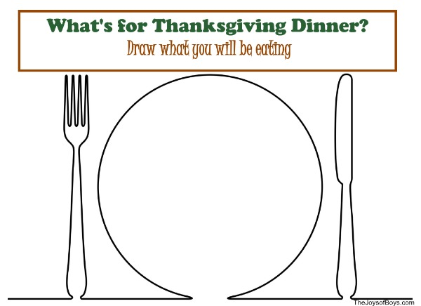 free thanksgiving activities - Fun Worksheets For Kids