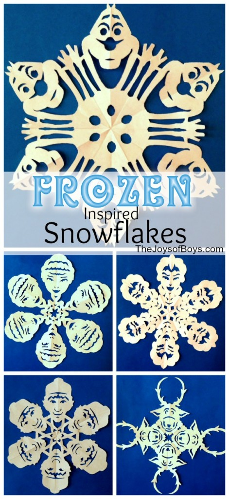 frozen snowflakes inspired by disney s frozen the joys of boys