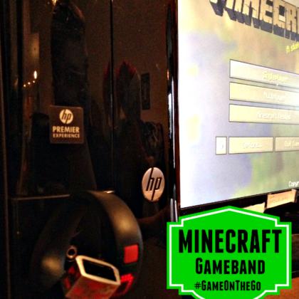 Minecraft gameband #Gameonthego