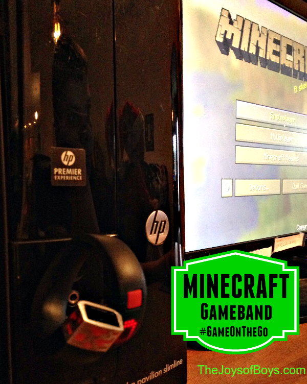 Minecraft gameband #Gameonthego