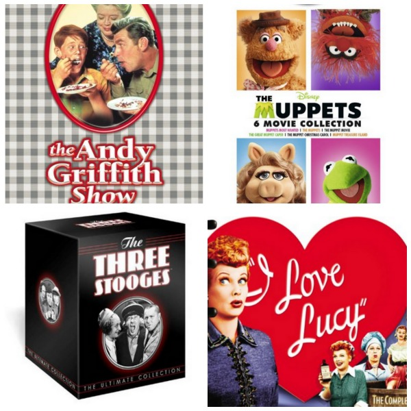 Classic DVDs for families