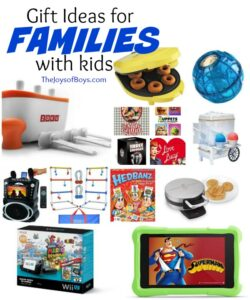 Gift Ideas for Families with Kids