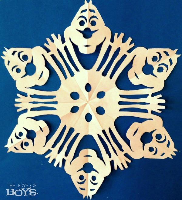 Frozen Snowflakes Olaf
