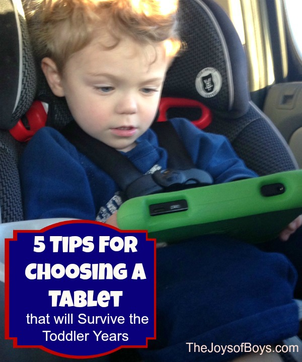Choosing a Tablet for Toddlers