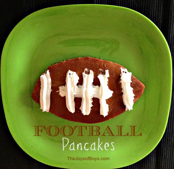 Football Pancakes