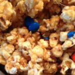 Marshmallow Caramel Popcorn crop