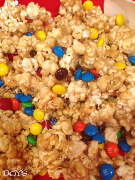 Marshmallow Caramel Popcorn Recipe