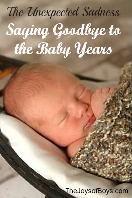 saying goodbye to the baby years