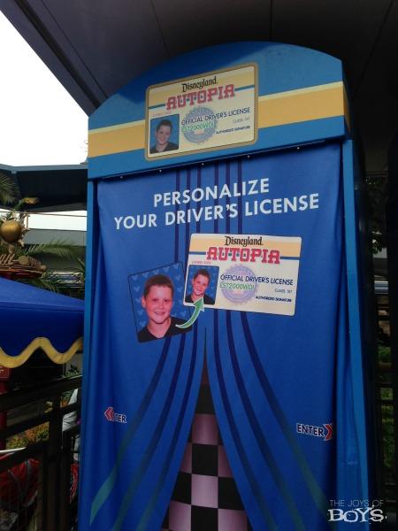 Autopia Driver's license