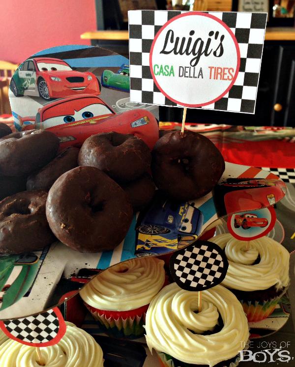 Cars Party Dessert