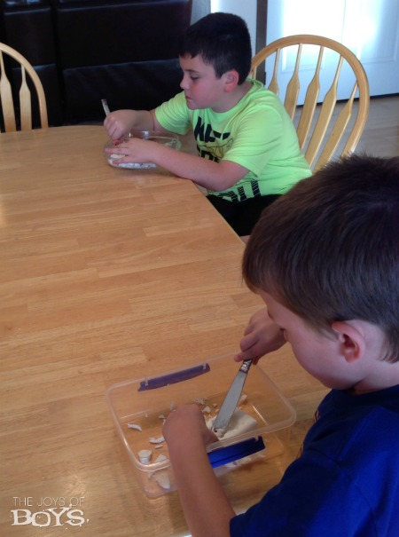 Making Ivory Soap Boats