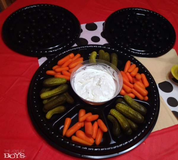 Mickey Mouse Snack Tray