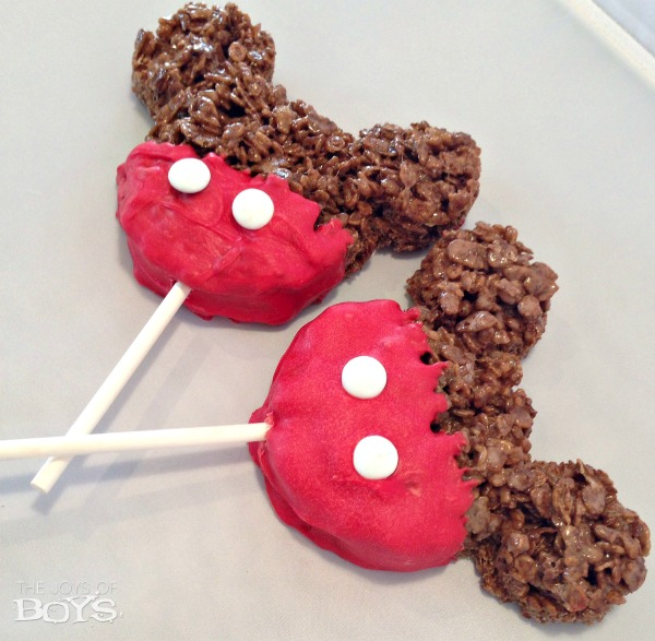 Mickey Crispy Treat