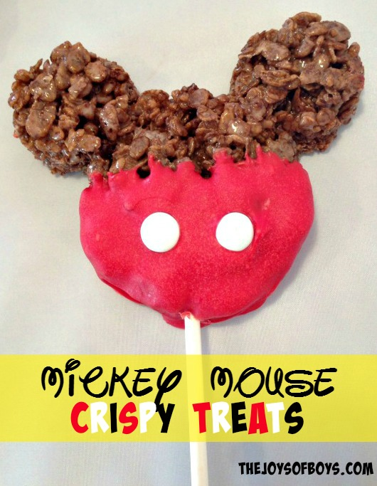 Mickey Mouse Crispy Treat