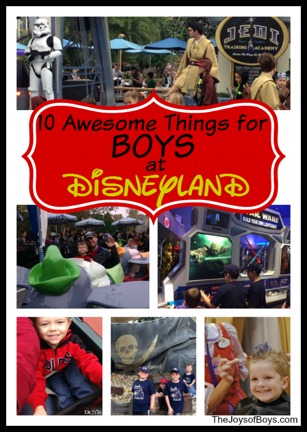 Things for Boys at Disneyland