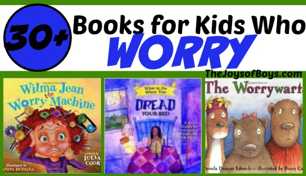 books for kids who worry