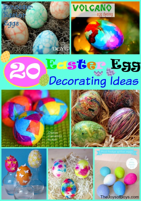 Easter Egg Decorating Ideas Dinosaur