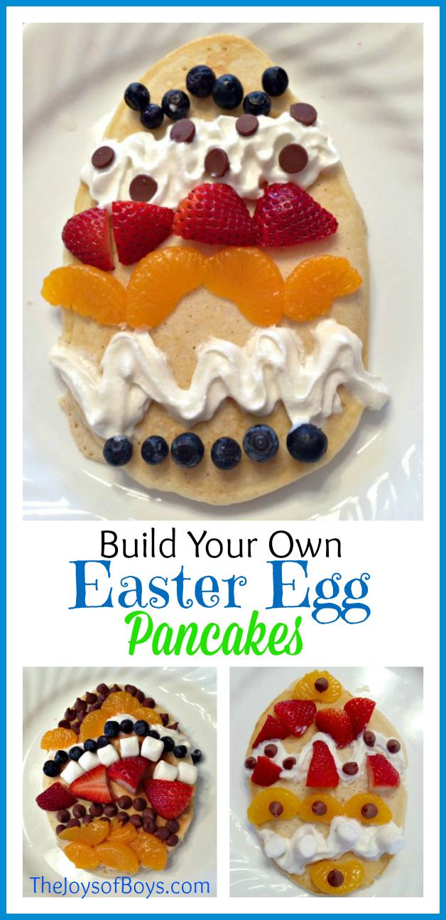 Easter Egg Pancakes