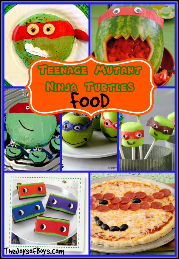 Teenage Mutant Ninja Turtles Food