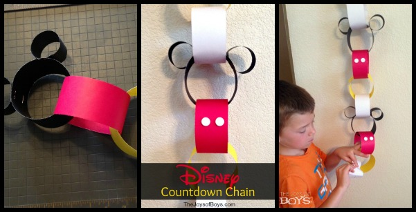 Disney Countdown Chain