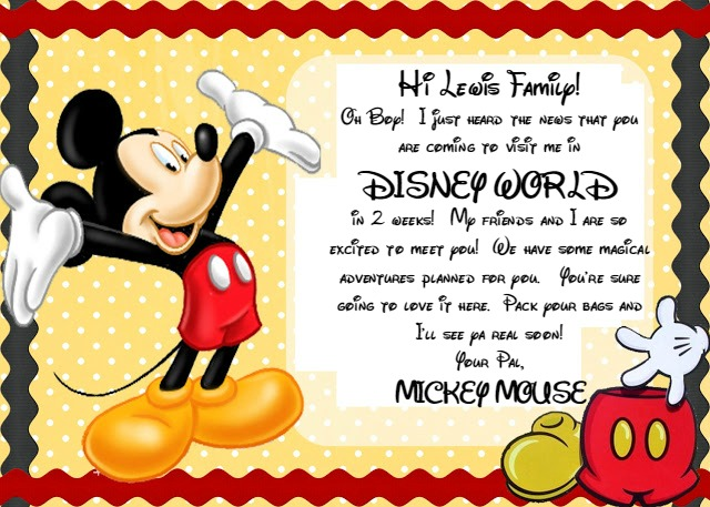 photograph about You're Going to Disneyland Printable identified as An Basic Route in direction of Wonder Your Small children with a Disney Getaway