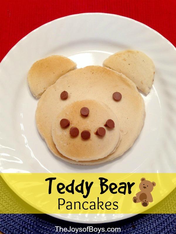 Tedy bear pancakes
