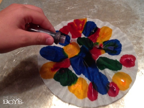 How to make Tie Dye Easter Eggs